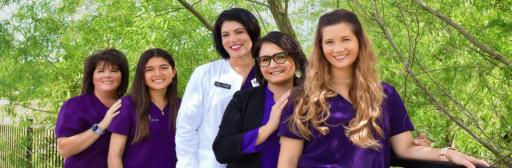 Dr. Torres and her dental team at Dental Spa in Cedar Park, TX